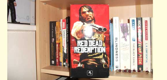 Red Dead Redemption Candle