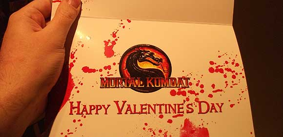 My Bloody Valentine Card