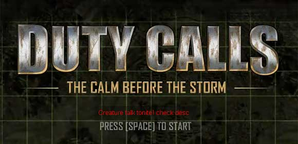 Duty Calls: Or why some people hate COD