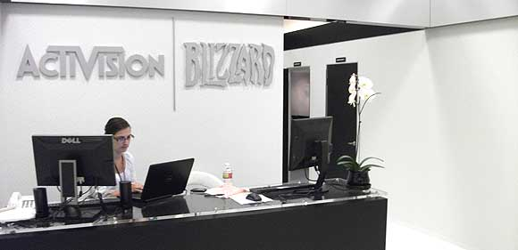 Blizzard and Activision have a very very white room.