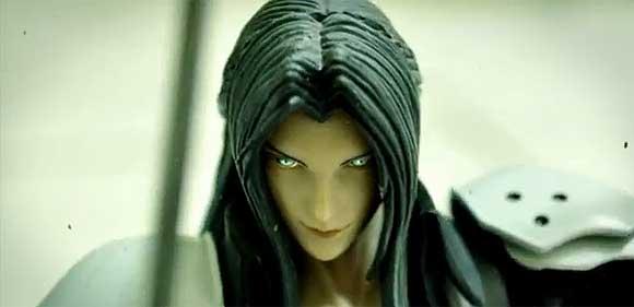Final Fantasy stop motion