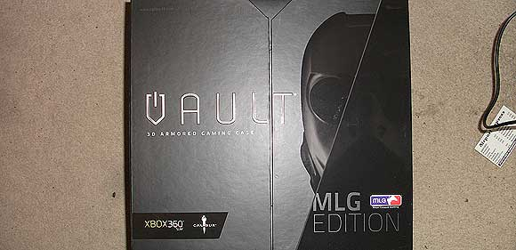 Vault Xbox 360 Cover Case