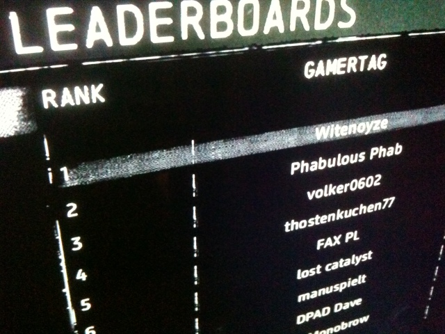 I Am Alive The Leaderboards