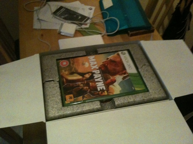 Max Payne 3 Special Edition Unboxing