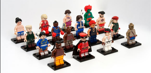 Lego Street Fighter